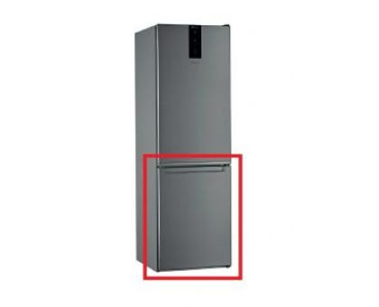 Ledusskapja saldētavas durvis Whirlpool W7821O